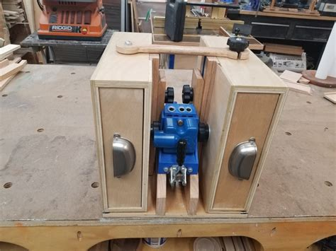 Pocket Hole Kreg Jig Workstation Plans
